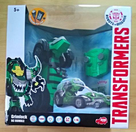 Dickie Toys Grimlock Transformers Wyścigowy. Sterowany! NOWY!
