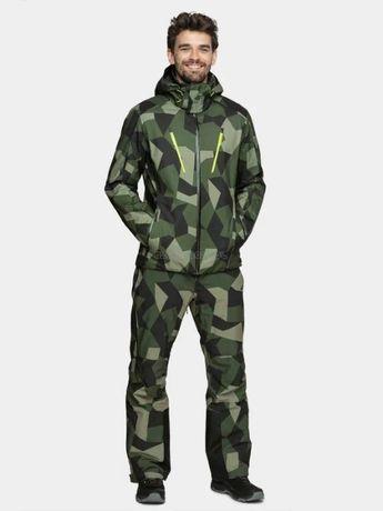 MĘSKI Kombinezon narciarski 4F kurtka KUMN007+spodnie black SPMN004 MO