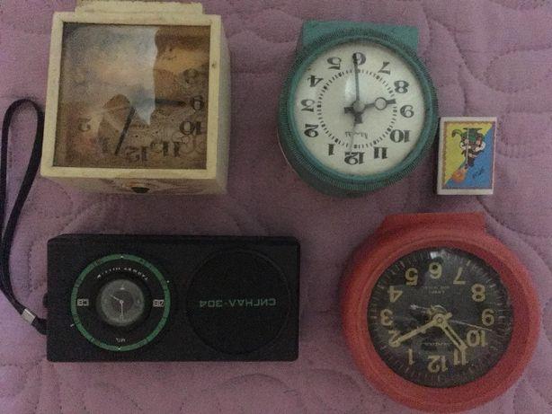 будильники СССР коллекция
