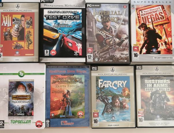 XIII, Test Drive, Imperial Glory, Rainbow Six Vegas, Dungeons Dragons