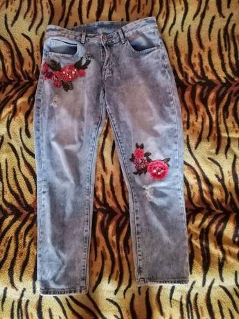 Бомбезные бойфренды джинсы