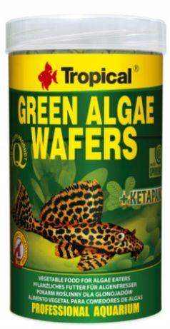 Tropical green algae wafers -pok.dla glonojadów i ryb dennych - 50 szt