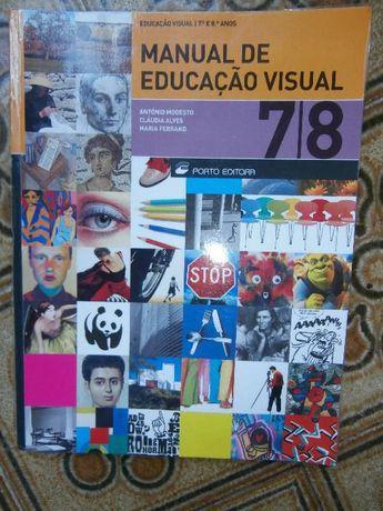 Manual de Educação Visual 7º e 8º Anos Porto Editora