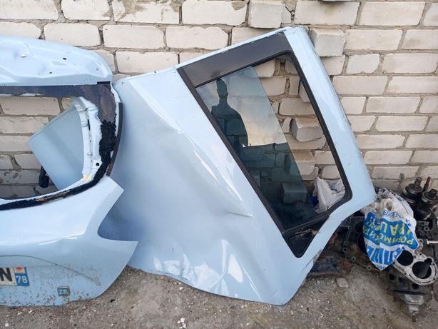 Левая задняя дверь стекло карта Renault ZOE в сборе, запчасти