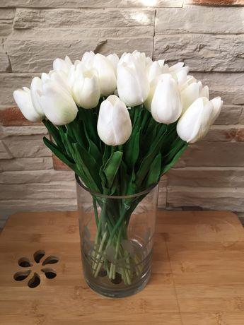 Tulipany jak żywe - bukiet 15 sztuk