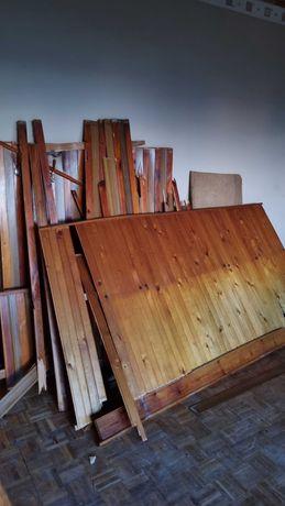 Drewno boazeria za darmo