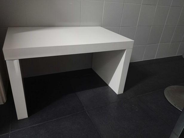 Mesa branca Centro/cabeceira