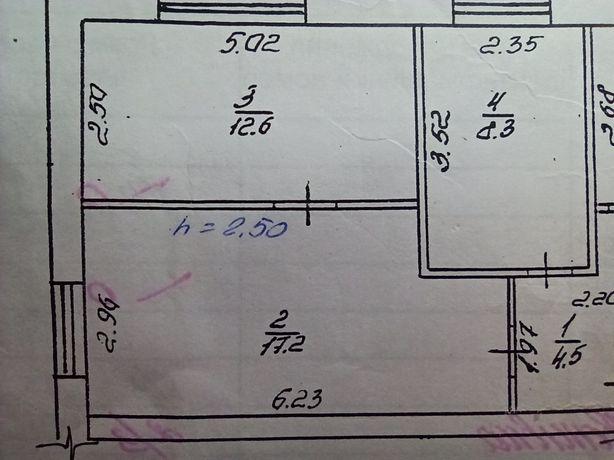 Продам трикімнатну квартиру у с. Могиляни
