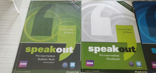 Speak out elementary, pre-intermediate, intermediate