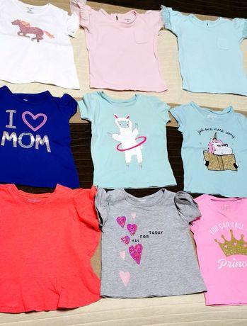 Очень красивые яркие футболки Carter's  для Вашей принцессы!
