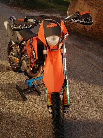 Ktm 450 exc, (2007) cx. 6 velocidades, matrículada