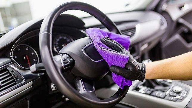 Sprzątanie oraz pranie aut, mycie okien domowych
