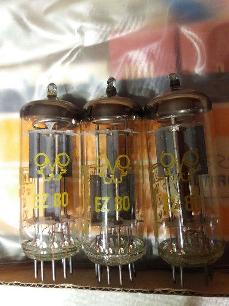 Lampa EZ80 Prostownicza