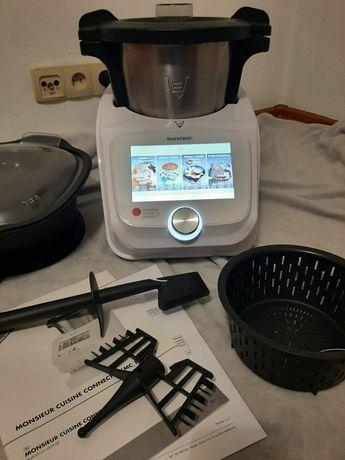Robot kuchenny Lidlomix Monsieur Cuisine Silvercrest wifi gwarancja
