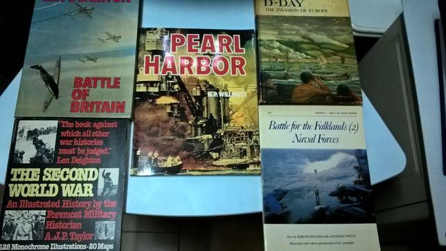 Livros sobre guerras e batalhas históricas