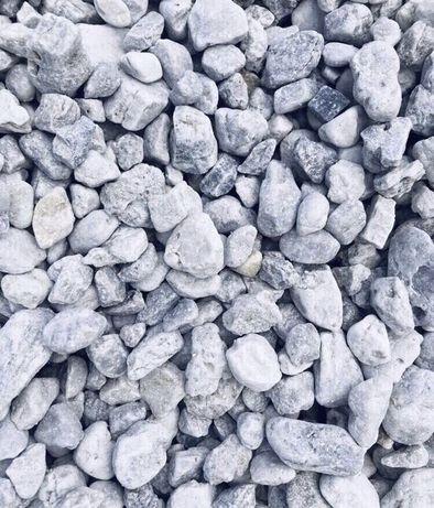 ICE BLUE Kamień Dekoracyjny Żwir Ogrodowy Otoczak Grys 8-16 i 16-32 mm