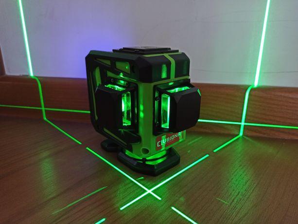 Лазерний рівень Clubiona 3D 12 ліній + штатив 2м., лазерный уровень