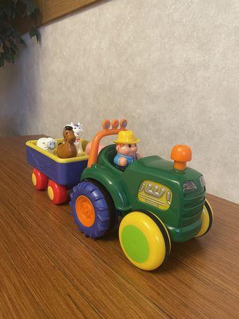 трактор интерактивная игрушка