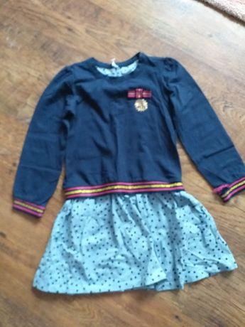 Sukienki dla dziewczynki 116/122. cocodrillo. Smyk, cena za 2sztuki.