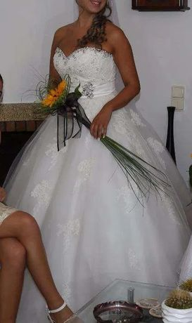 Vestido único de noiva