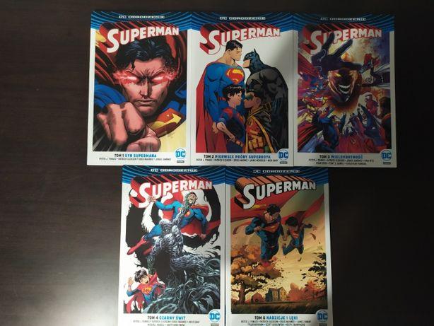 Superman Odrodzenie 8 tomów