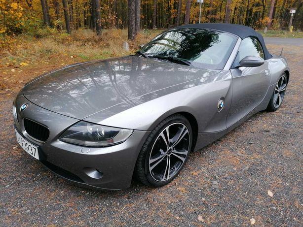 BMW Z4 E 85  roadster 2,5benz+gaz- FULL-idealna