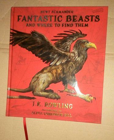 Фантастические твари на английском подарочное издание Fantastic Beasts