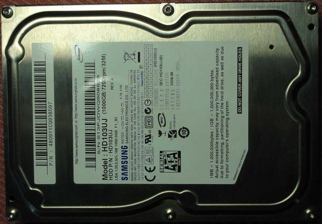 "3.5"" 1000GB Samsung SpinPoint F1 HD103UJ 1TB HDD"