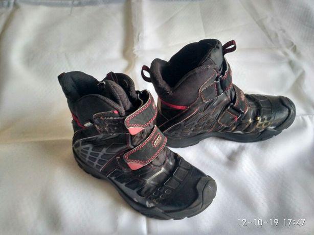 Продаются детские ботинки.фирма Джеокс.