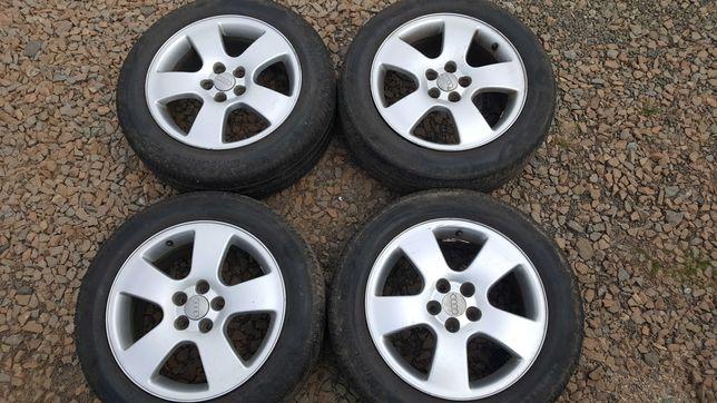 "Felgi Audi A3 OEM + Opony 16"" 205/55 Pirelli Cinturato P7"