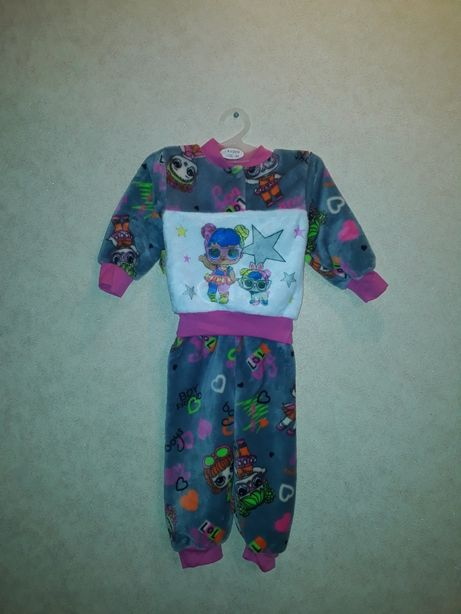 Махровая пижама Лол на 12-18 мес
