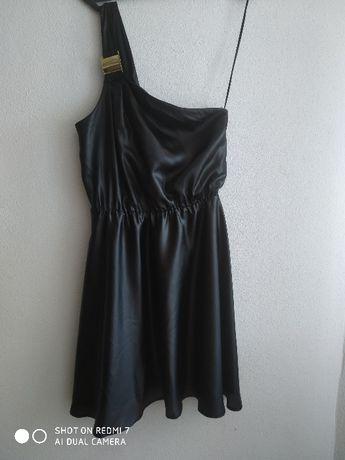 Vestido Preto Só 1 Alça Stradivarius S