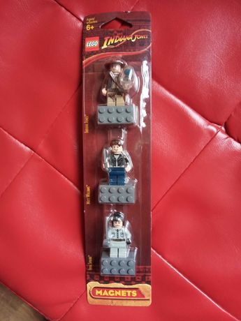 Lego Indiana Jones magnesy 2009