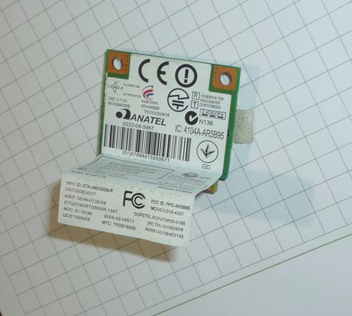 Wi-Fi адаптер для ноутбука до 150 Mbit/s