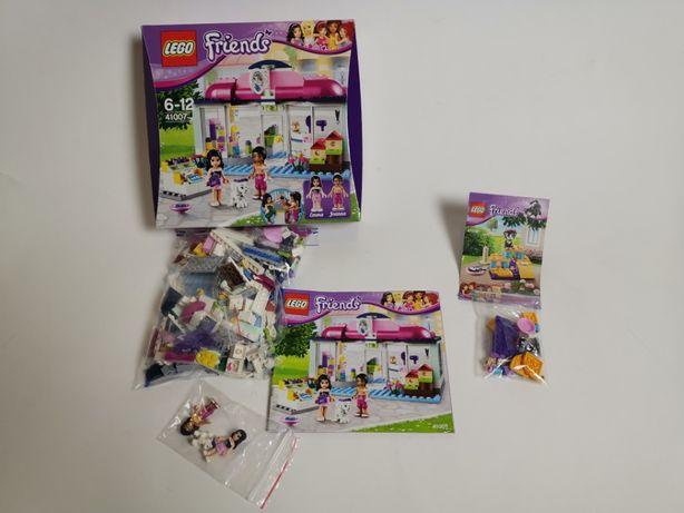 Klocki Lego Friends nr 41007 Salon dla zwierząt używane + GRATIS