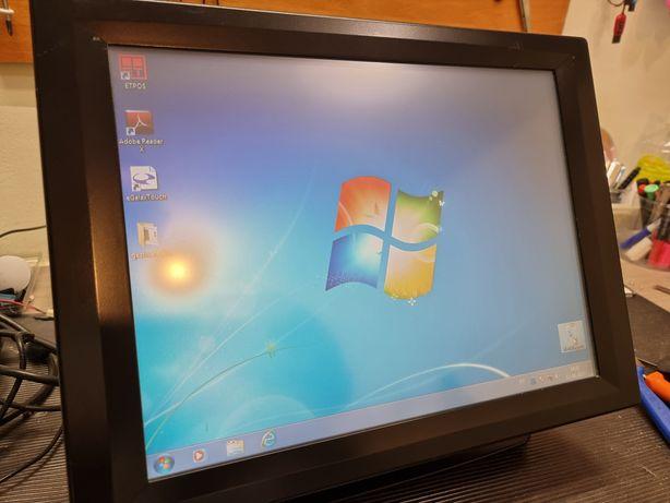 """POS Touch 15.4"""" com software gestão sem Anuidades"""