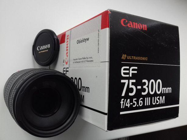 Obiektyw Canon 75-300 mm f/4-5.6 EF III USM