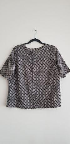 Elegancka wzorzysta bluzka