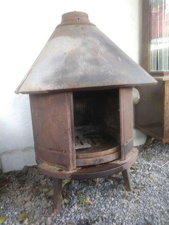 Piecyk kominek żeliwny norweski na drewno Jotul nr 6 ,10 kW