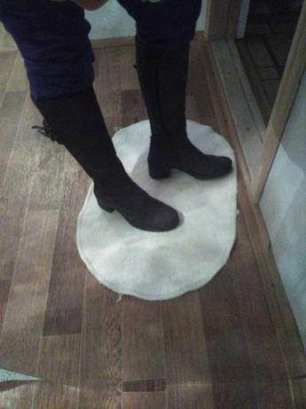 Сапоги женские кожаные 36 37