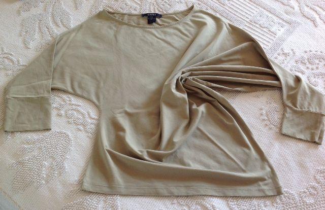 Camisola de algodão assimétrica de senhora M - GANT (original)