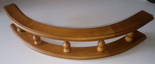 Галерейка мебельная DREWPOL, балюстрада массив ореха