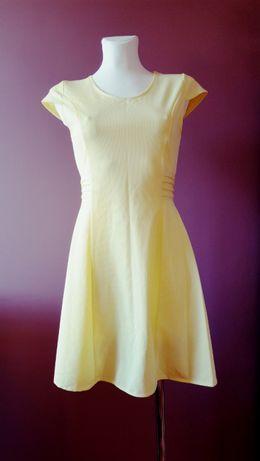 Sukienka żółta rozmiar s