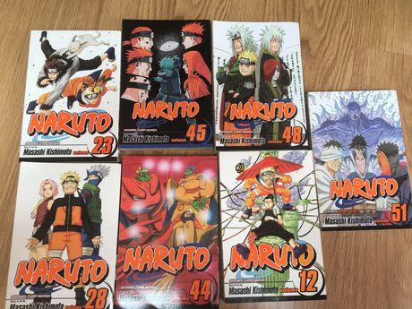 Vendo Naruto Manga