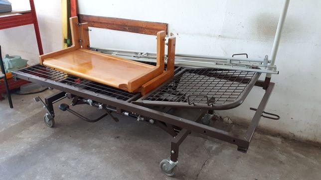 Łóżko dla chorych(128) - hydrauliczne