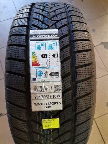 255/50R19 107V Dunlop WINTER SPORT 5 SUV XL MFS Nowe 19rok