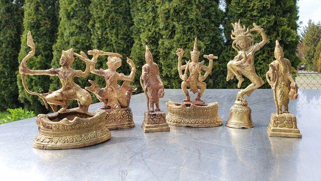Mosiężne figurki indyjskie