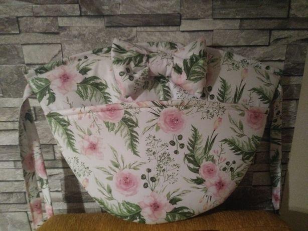 Przybornik organizer torba do łóżeczka dziecięcego. Makles Design
