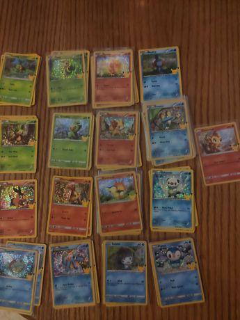 Cartas pokemon McDonald's 21 HOLO