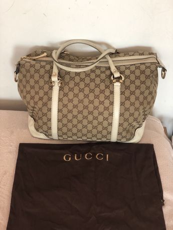 Gucci shopper torebka torba podrozna oryginał xl